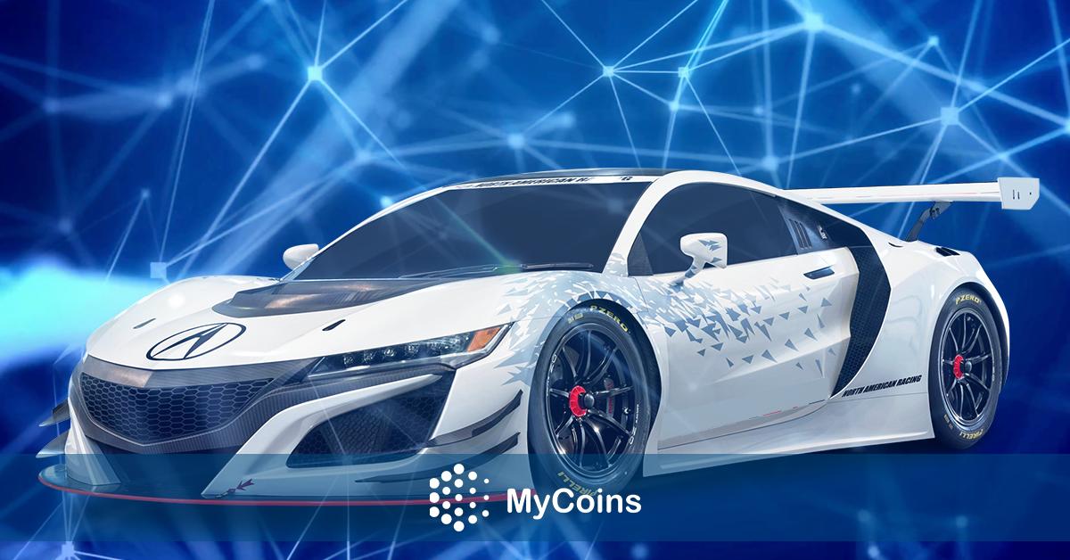 ბლოკჩეინის სისტემაზე დაფუძნებული თამაშის ერთ-ერთი ვირტუალური რბოლის ავტომობილი $110,000 ა.შ.შ. დოლარზე მეტად გაიყიდა