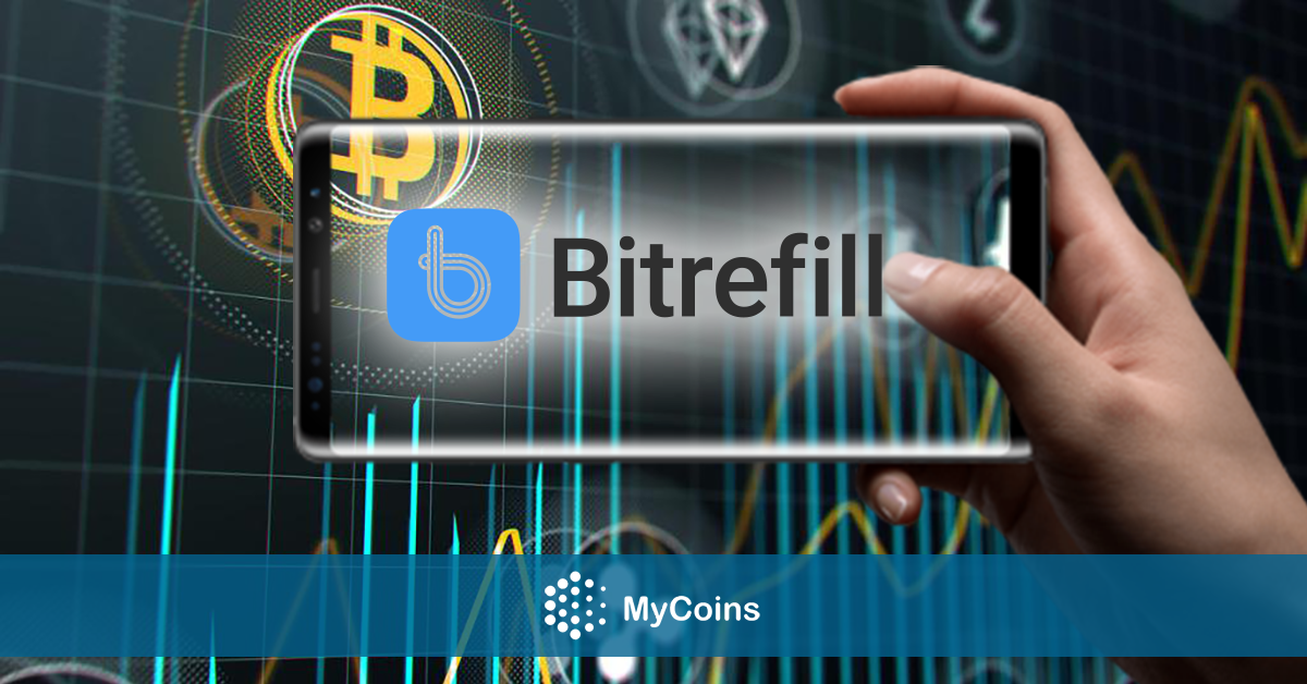 შვედური მობილური აპლიკაცია Bitrefill-ი მომსახურების არეალის გასაფართოვებლად 2 მილიონი ა.შ.შ. დოლარის ინვეტსიციას ახორციელებს