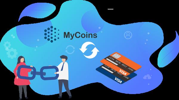 MyCoins-ს ბარათის გადაბმის ახალი ფუნქციონალი დაემატა