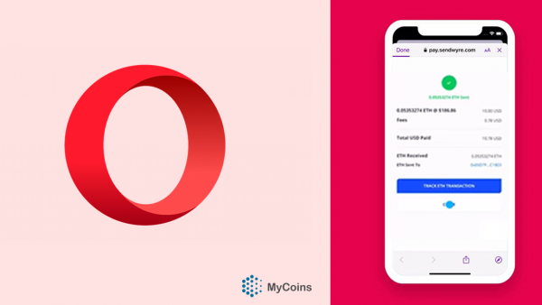 Opera-მ კრიპტოს Apple Pay-ით ყიდვის ფუნქცია დაამატა