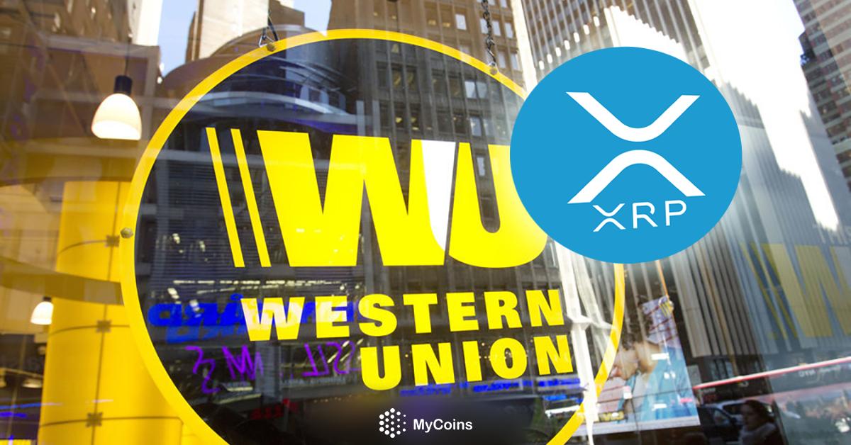 Western Union რიპლს (XRP) საერთაშორისო გადახდებისთვის ამზადებს