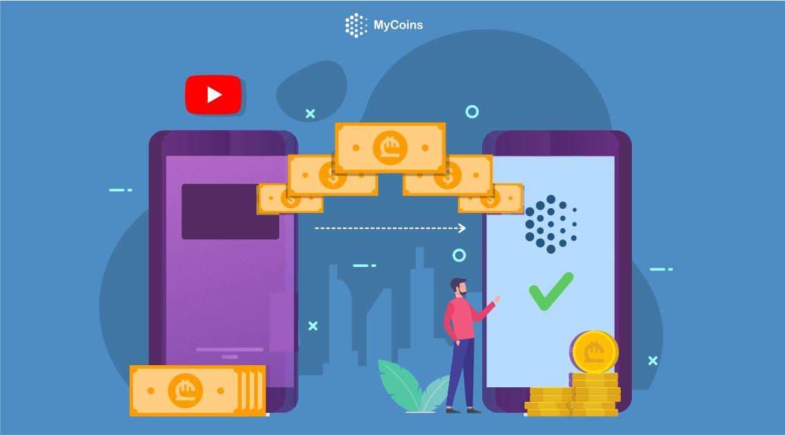 როგორ გადმოვიტანოთ თანხა სხვა კრიპტო საფულიდან MyCoins-ზე?