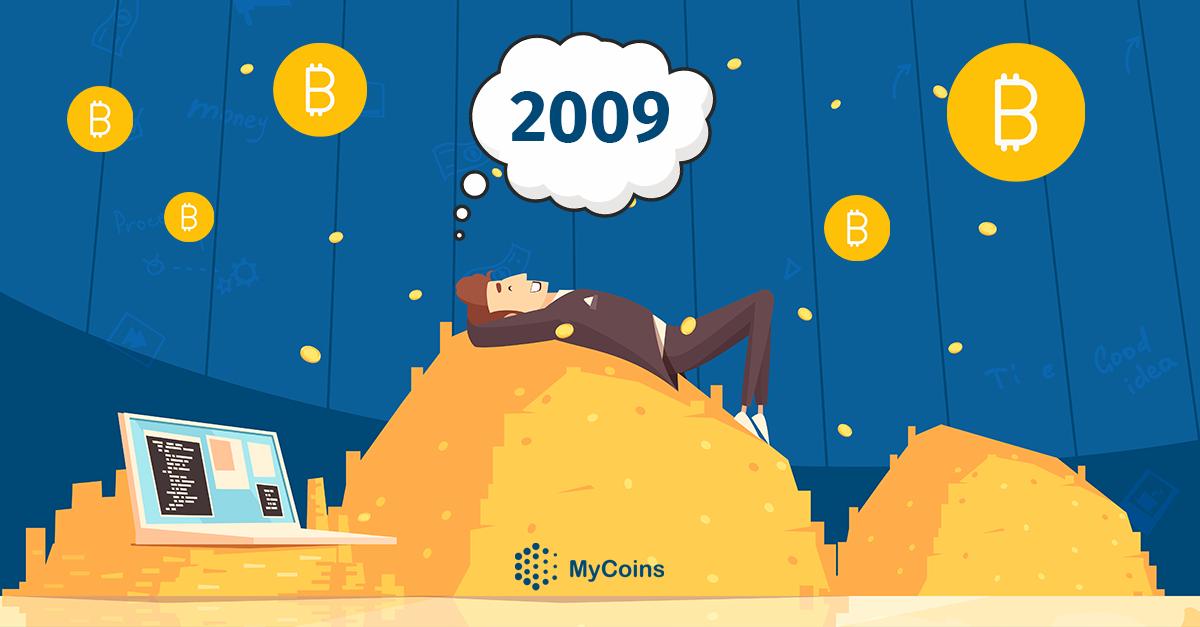 რა მოხდებოდა ბიტკოინი (BTC) 2009 წელს რომ გეყიდა?