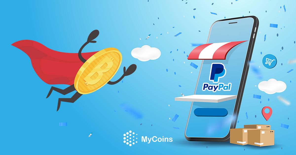 PayPal-ის კრიპტოსადმი მხარდაჭერამ ბიტკოინის (BTC) ფასი გაზარდა!