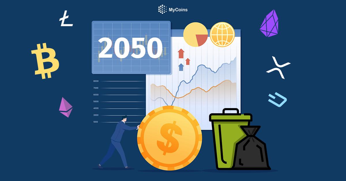 ჩაანაცვლებს კრიპტოვალუტა ნაღდ ფულს 2050 წლამდე?