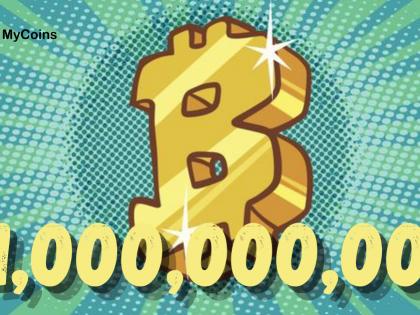 მიუახლოვდება ბიტკოინის (BTC) ფასი $1 მილიარდ დოლარს?